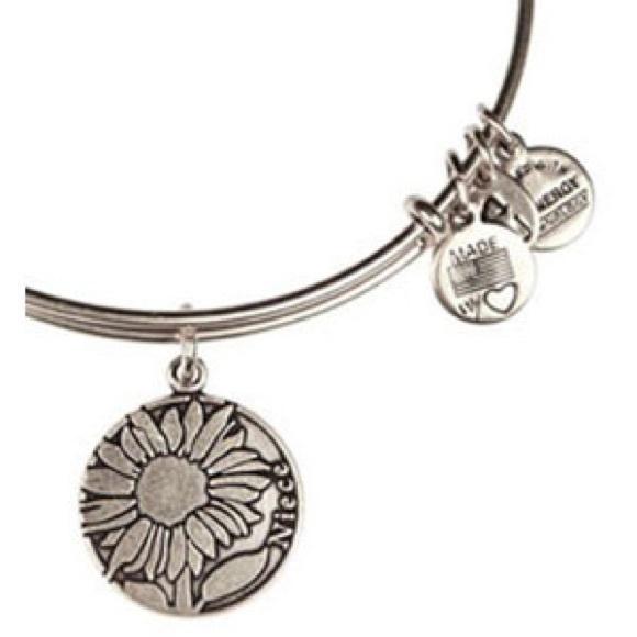Alex And Ani Jewelry Silver Niece Bracelet Poshmark